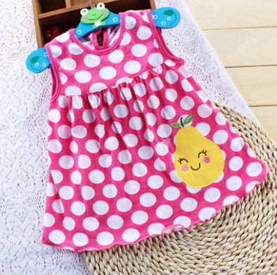 Baby Smile Girl Summer Dress