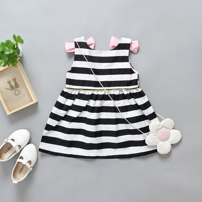 Baby Girls Summer Stripe Dress