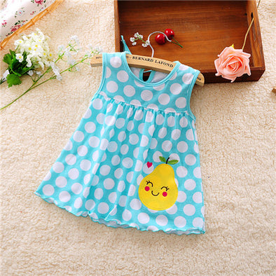 Lovely Blu Baby Girl Summer Dress