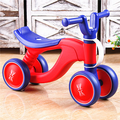 Four Wheels Baby Balance Bike