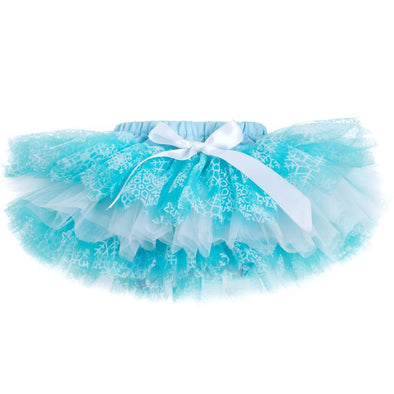 Baby Girl Tulle Light Blue Tutu Skirt
