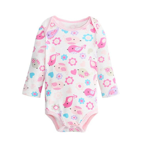 Cute Cotton Baby Girl Bodysuits