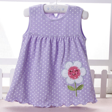 Lovely Flower Baby Girl Summer Dress