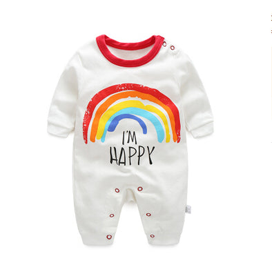 Happy Cartoon Infant  Jumpsuit