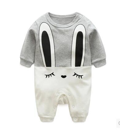 Unisex Cartoon Infant  Jumpsuit