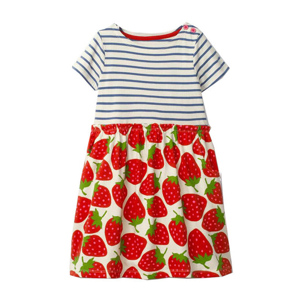 Strawberry Baby Girls Summer Dress