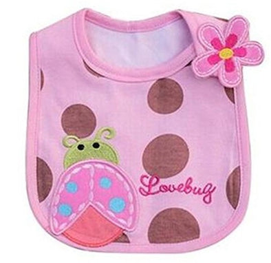 Cute Cartoon Pattern Baby Bibs