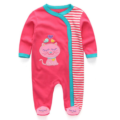 Catwalk Kids Long Sleeve Newborn Jumpsuits