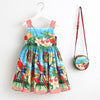 Baby Girl Sleeveless Dress with Bag