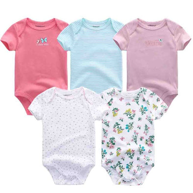 New 5 Pcs/Lot High Quality Bodysuits