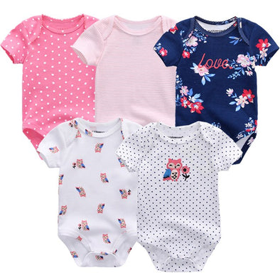 5 Pcs/Lot High Quality Love Bodysuits