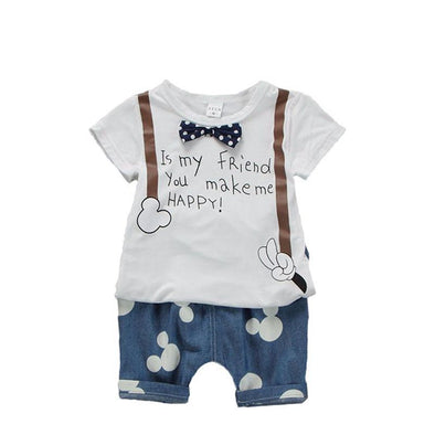Summer Baby Boy Set 2pcs