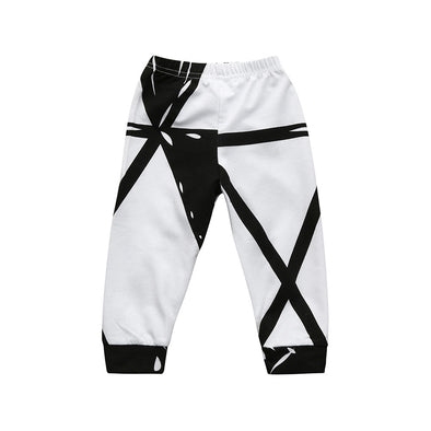 Cute Geometrical Baby Pants
