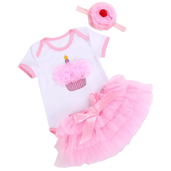 Fairy Tutu Skirt Newborn Set