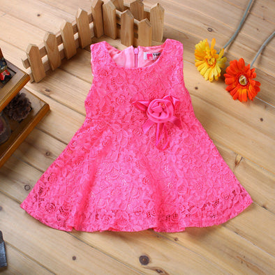 Summer Baby Princess Lace Dress