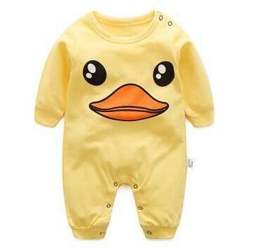 Cartoon Duck-Duck Infant  Jumpsuit