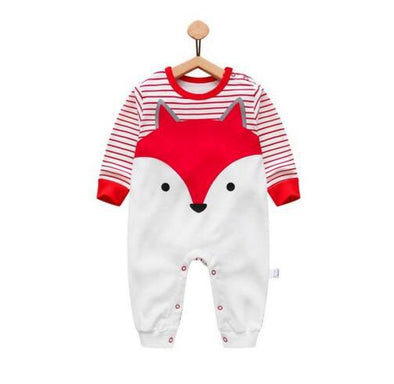 Cartoon Fox Infant Jumpsuit