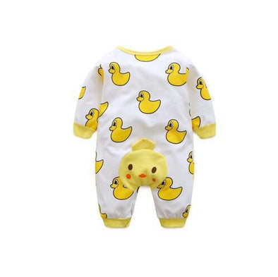 Duck Cartoon Infant  Jumpsuit