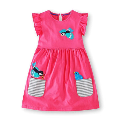 Baby Girls Pink Summer Dress