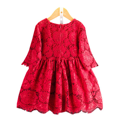 Baby Girls Lace Princess Party Dress