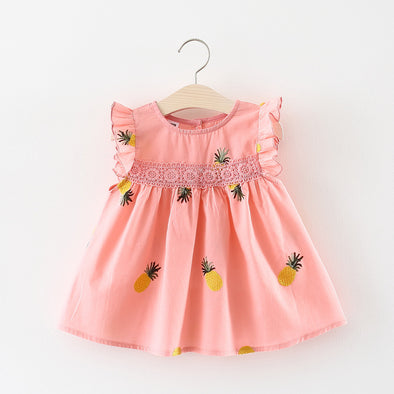 Pink Summer Baby Girls Dress