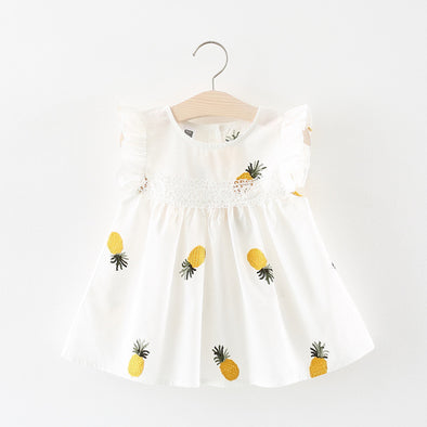 Pineapple Summer Baby Girls Dress