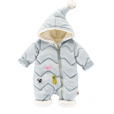 Warm Newborn Baby Snowsuit