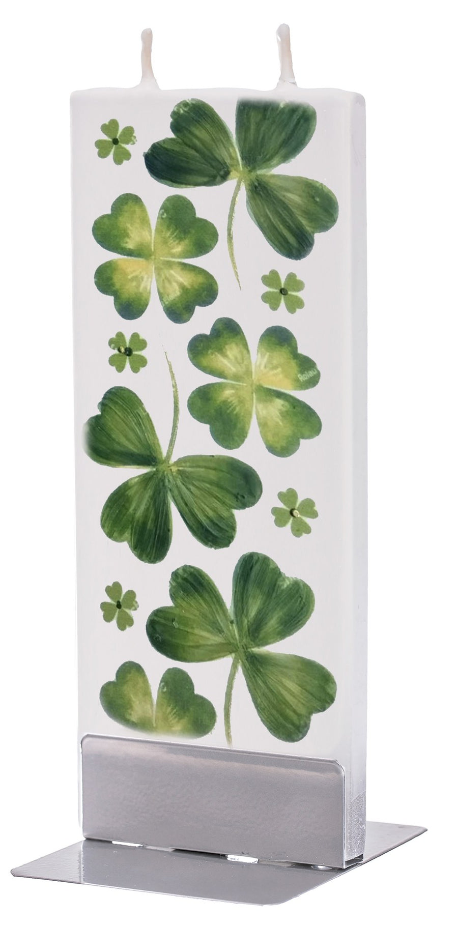 St. Patrick's Day Clovers Candle