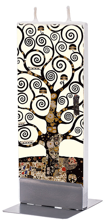 Klimt - Tree of Life, black & white