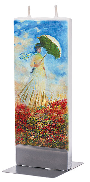 Claude Monet - Woman with a Parasol, Facing Right