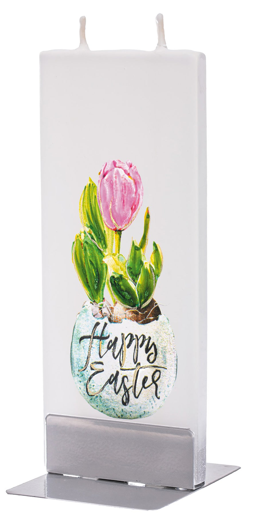 Tulip In Easter Egg Candle