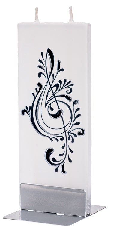 Treble Clef Candle Candle