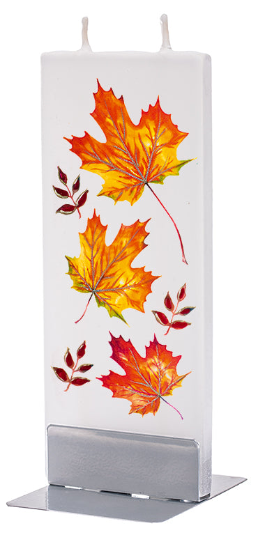 Fall Leaves Candle