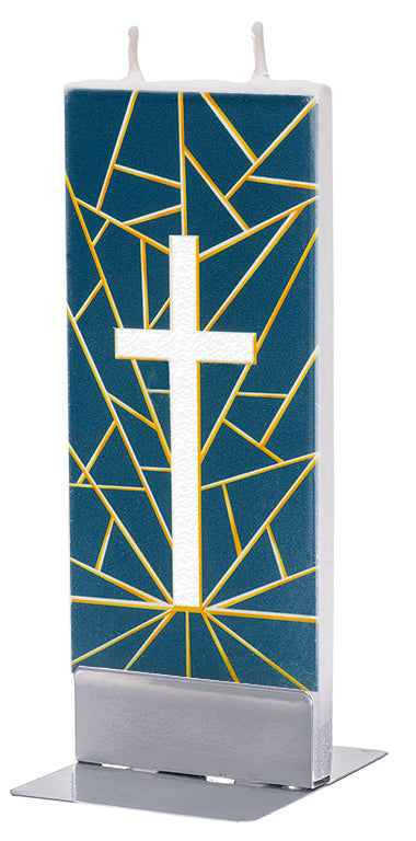Geometric Cross Candle Candle