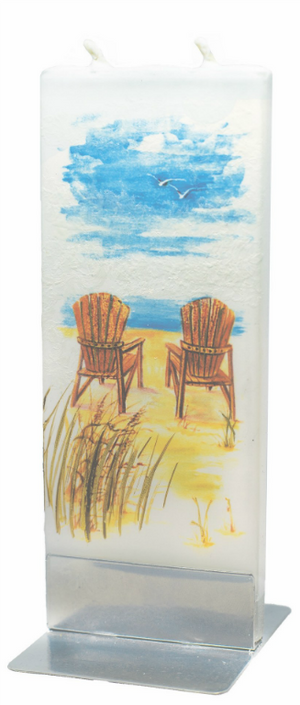 Adirondack Chairs - Flat Candles by Flatyz