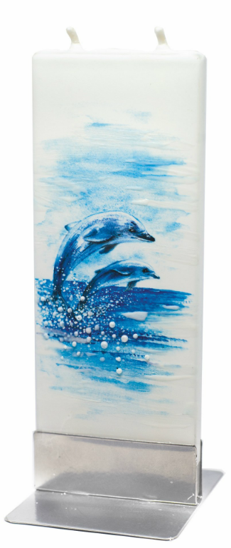 Two Dolphins - Decorative Candles by Flatyz