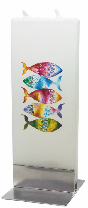 Five Fish - Decorative Candle by Flatyz