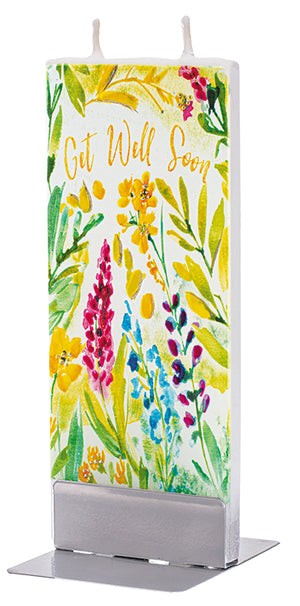 Get Well Soon Floral Print
