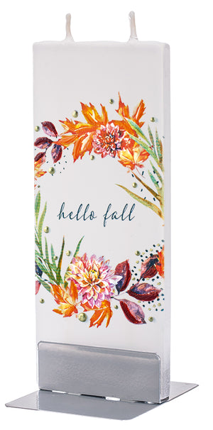Hello Fall Floral Wreath