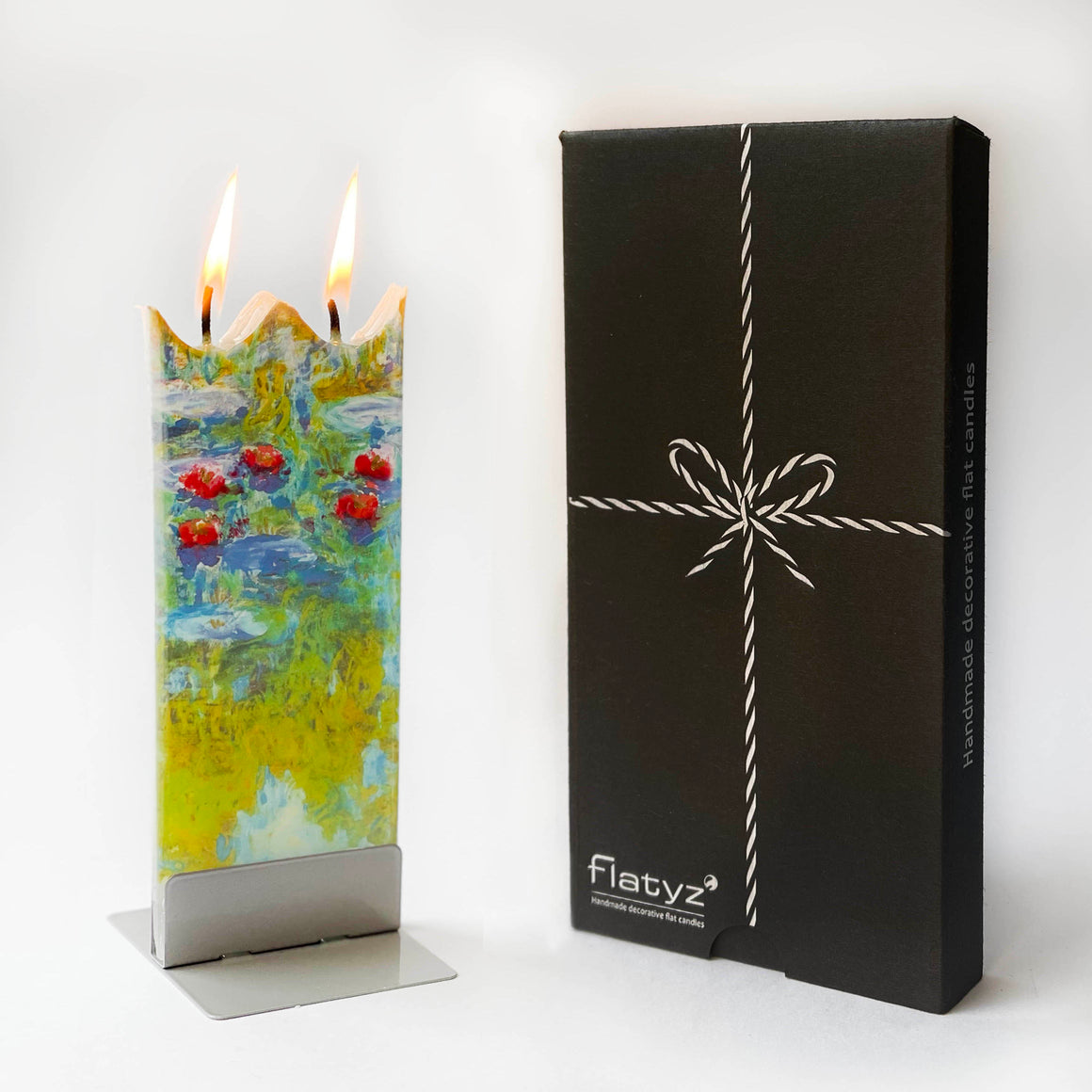 Deluxe Candle Gift Box with Modern Embossed Design