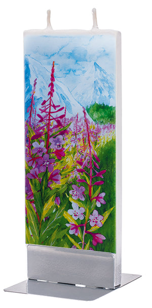 Fireweed in the Mountains Candle