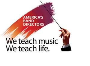 Make a contribution to the Saluting America's Band Directors project