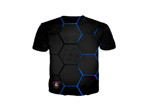 Blue Lava Blocks T-Shirt