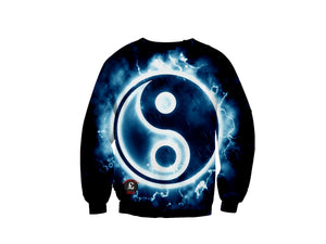 Stormy Yin and Yang Sweatshirt