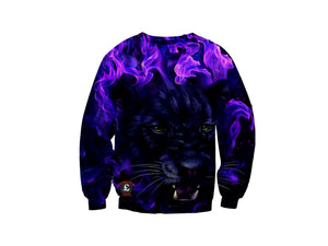 Purple Panther Sweatshirt