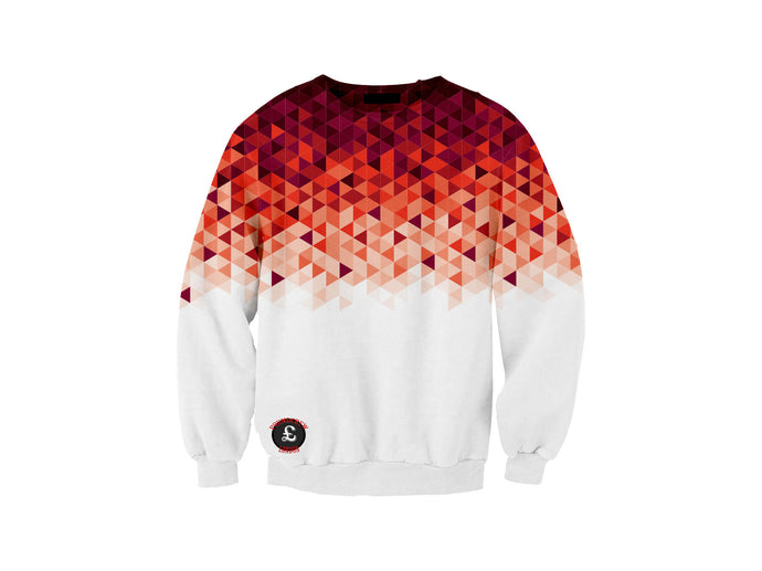 Red Fade Sweatshirt