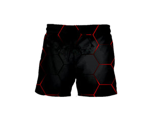 Red Lava Shorts