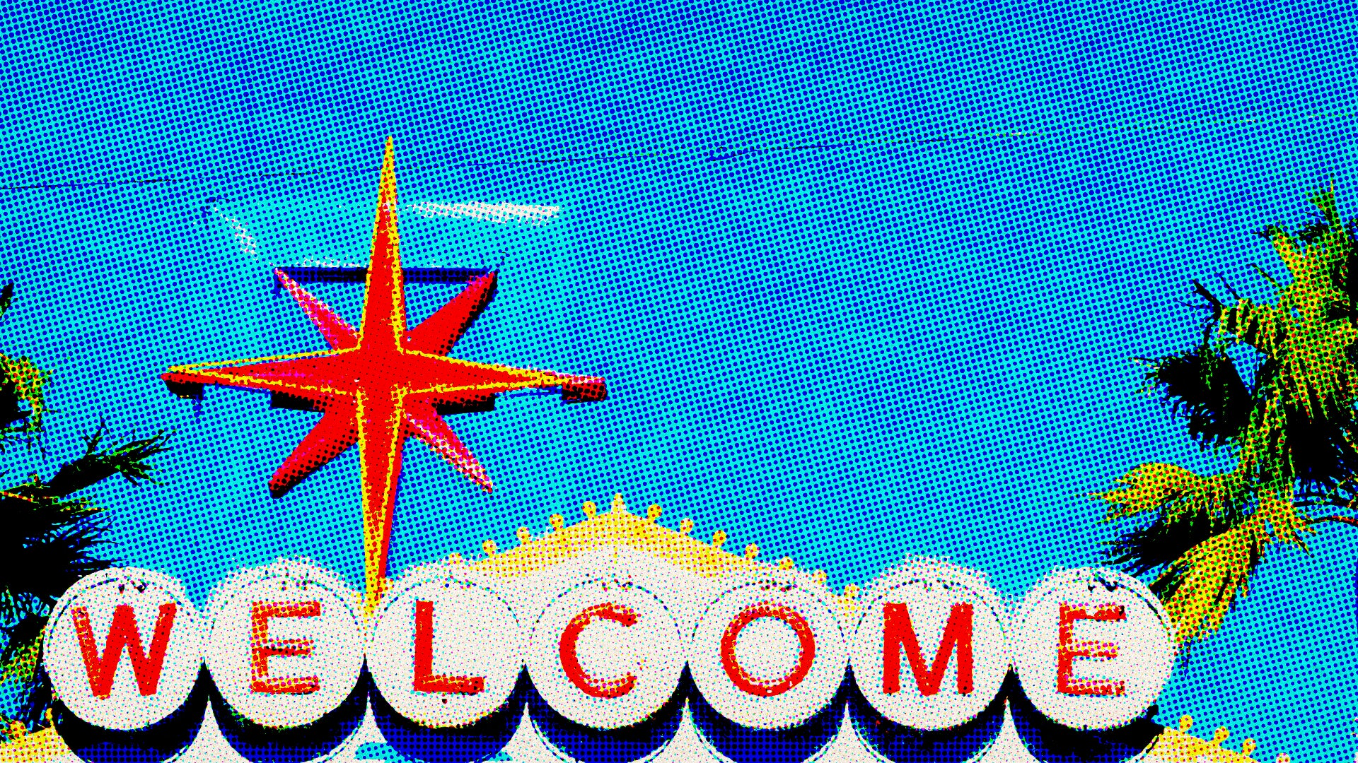 Iconic Las Vegas Welcome Sign