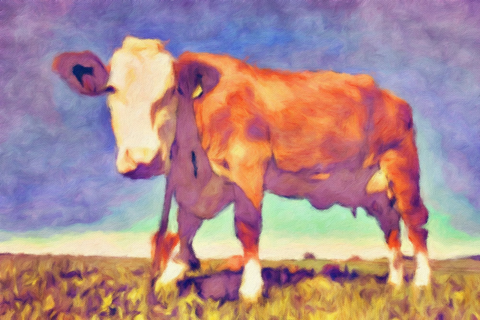 Cows No. 5, Reworked