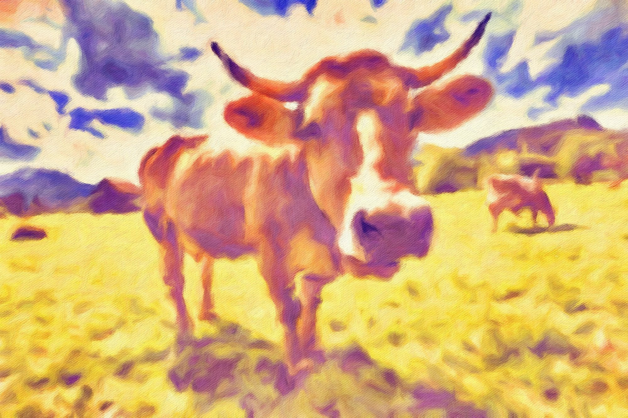 Cows No. 8, Reworked
